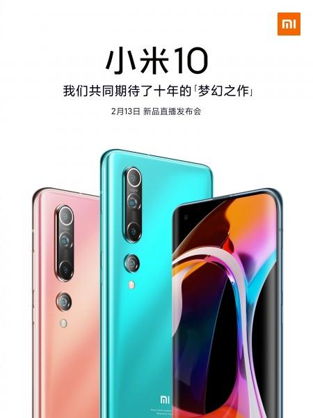 Xiaomi Mi 10 e 10 Pro Oficialmente apresentados
