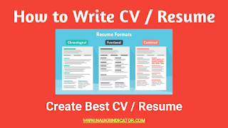 How To Write Good Cv Or Resume