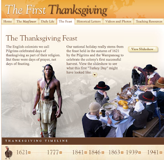 Click here to learn about the first Thanksgiving