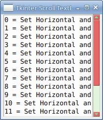 Tkinter ScrollBar Style in Python