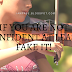 IF YOU ARE NOT CONFIDENT AT LEAST FAKE IT!
