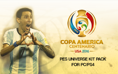 PES 2016 Kitpack Copa America Centenario 2016