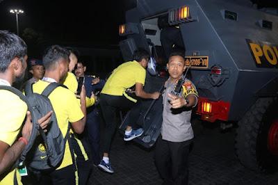 Gambar dan Video Pemain Malaysia Selepas Perlawanan Menentang Indonesia