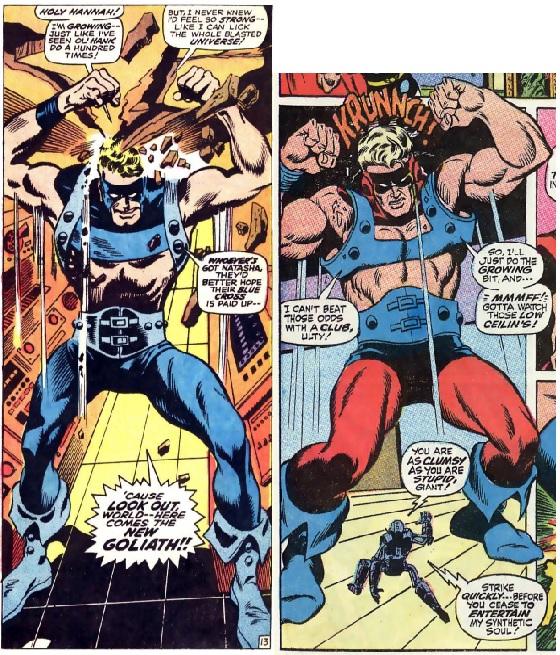 Avengers 68 Goliath Sal Buscema
