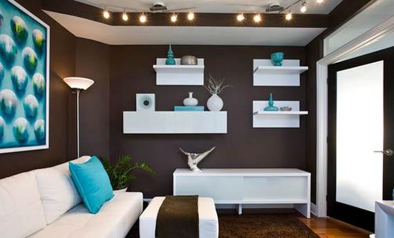 Warna Cat Plafon Ruang Tamu Minimalis