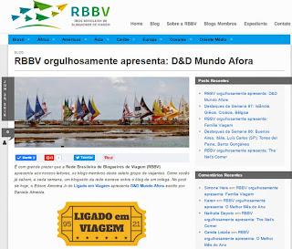 RBBV orgulhosamente apresenta: D&D Mundo Afora