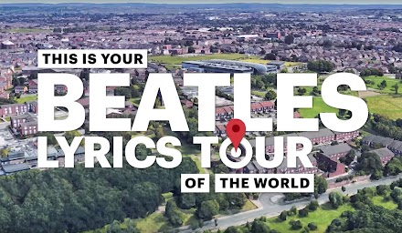 Entdecke die Orte hinter den Beatles Songtexten | Von England, Frankreich, Russland, Indien bis in die USA ist es Musikgeschichte pur