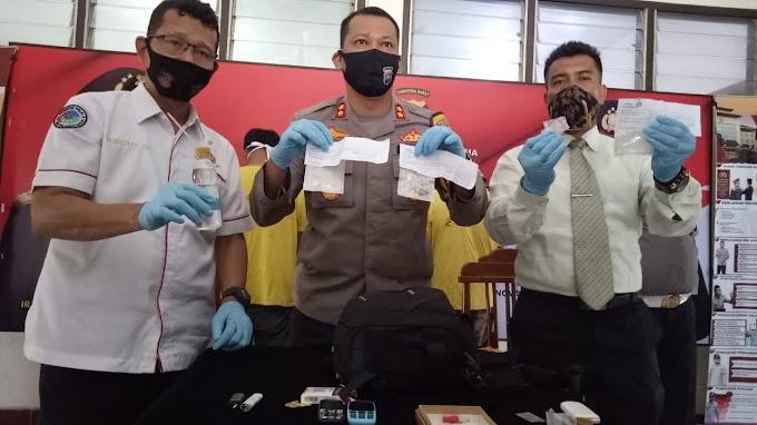 Lagi Kasus Narkotika di Wilayah Hukum Polres Pariaman, Kali Ini Dua Pelaku Diamankan Polisi