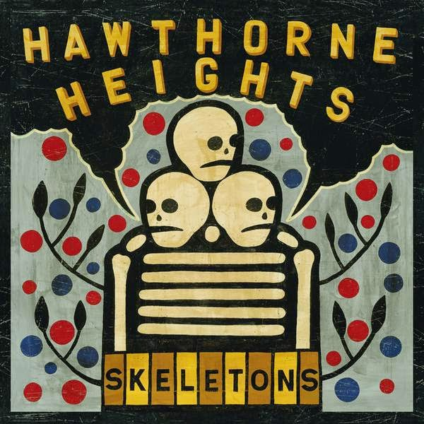 Hawthorne Heights - Skeletons Cover