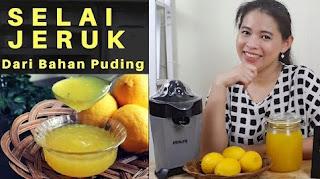 Cara membuat selai jeruk