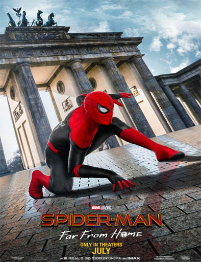 descargar Spider-Man: Lejos de casa (2019) 1080p [LATINO] [1 LINK] [MEGA]