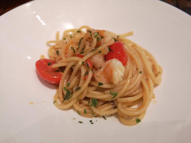 lobster bisque spaghetti