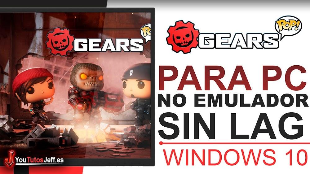 Como Descargar Gears POP para PC SIN EMULADOR Windows 10