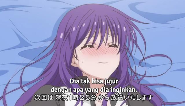 Link Download Midara na Ao-chan wa Benkyou ga Dekinai Episode 9 Sub Indo