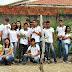 Alunos da Escola Profissionalizante de Milagres realizam plantio de 80 mudas em Avenida