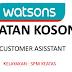 JAWATAN KOSONG DI WATSON'S