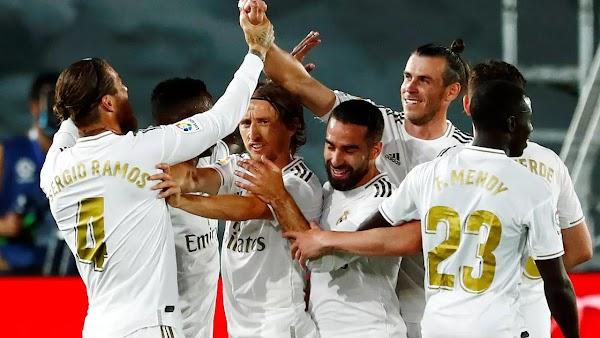 نتيجة مباراة ريال مدريد وديبورتيفو ألافيس اليوم بتاريخ 10-07-2020 في الدوري الاسباني