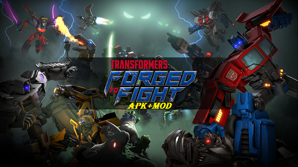 Download TRANSFORMERS Forged to Fight Mod Apk Unlimited Ammo