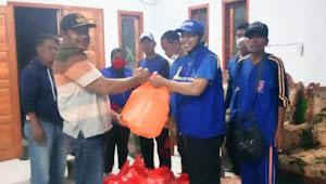 Dinsos Dompu Drop 250 Bungkus Nasi Untuk Korban Banjir Bandang