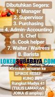 Bursa Kerja Surabaya di Spikoe Resep Kuno November 2019