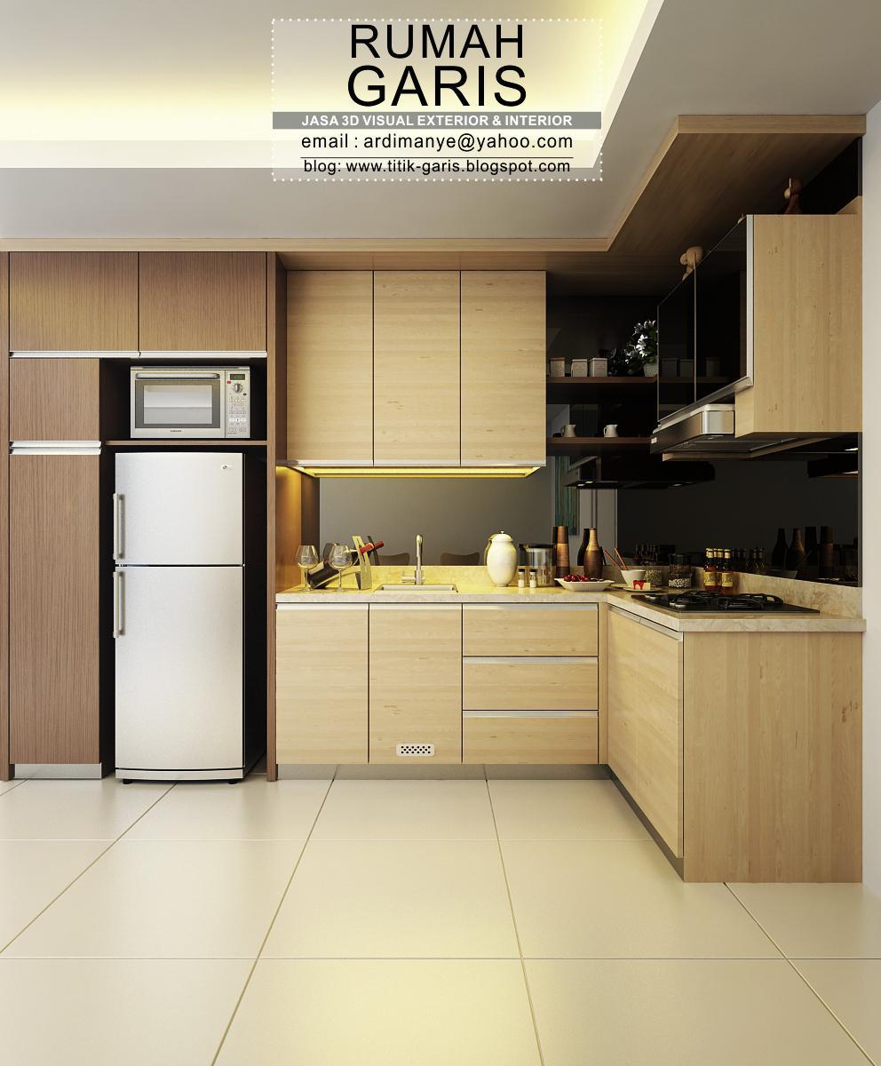 Kitchen Set Ukuran 1 Meter: Inspirasi Desain Kitchen Set Berbagai Bentuk