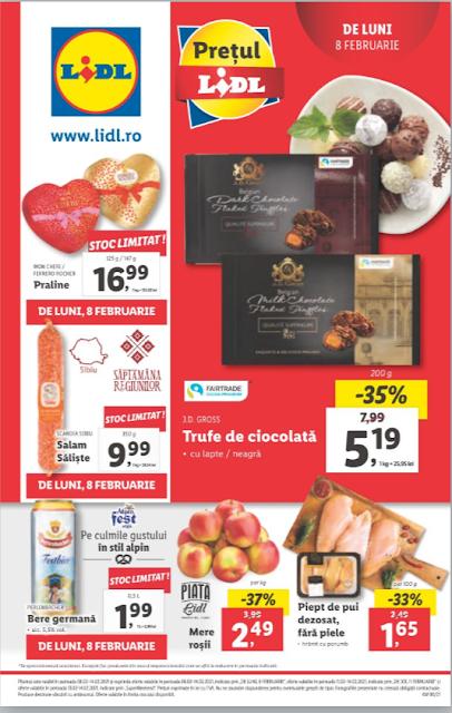 LIDL Catalog - Brosura 8-14.02 2021→ Aktiveaza Cupoanele