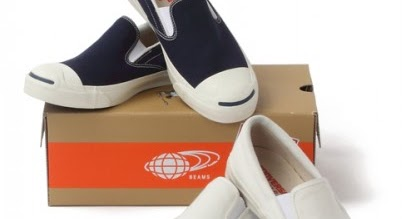 61a91d312d21 WEAR DIFFERENT  CONVERSE X BEAMS JACK PURCELL SLIP ON 13SS