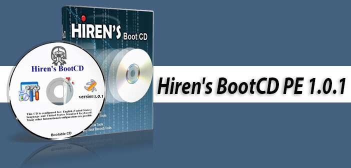 Hiren's BootCD PE x64 1.0.1 - Full Program