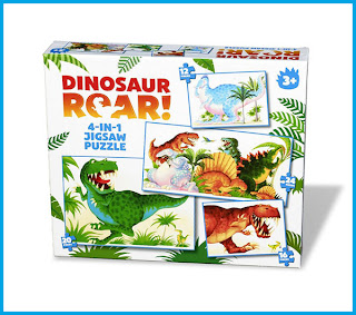 dinosaurs, dinosaur roar, dinosaur jigsaw puzzles, dinosaur roar jigsaw puzzles, paul lamond,