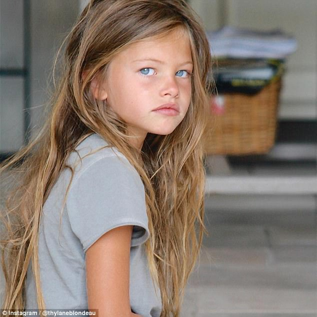 Six year old 'most beautiful girl in the world' is now grown and a model
