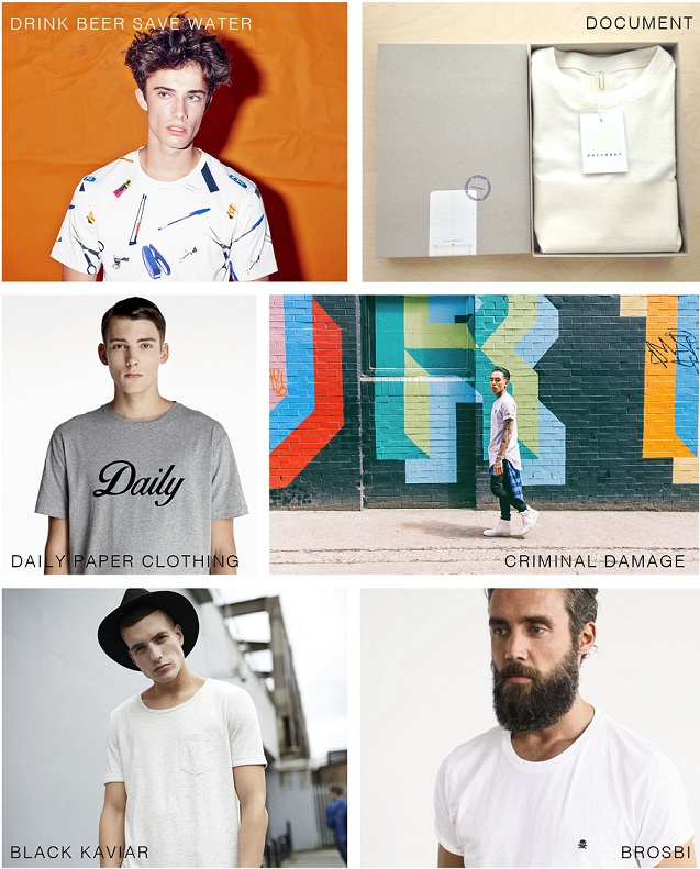 Men's T-shirt Brands
