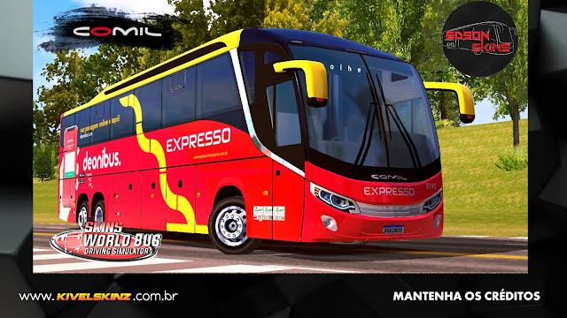 COMIL 1200 6X2 - VIAÇÃO EXPRESSO