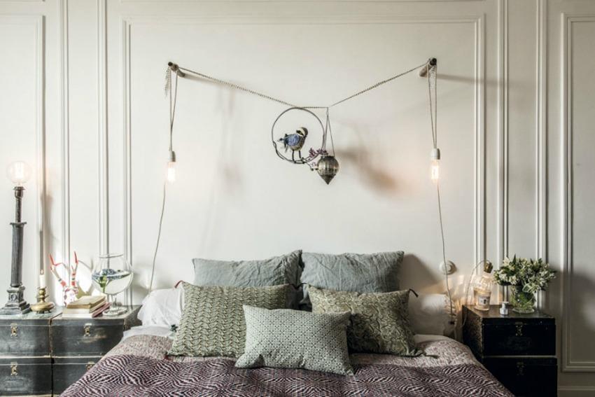 dormitorio apartamento paris