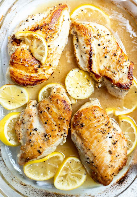 Baked Lemon Pepper Chicken | WonkyWonderful