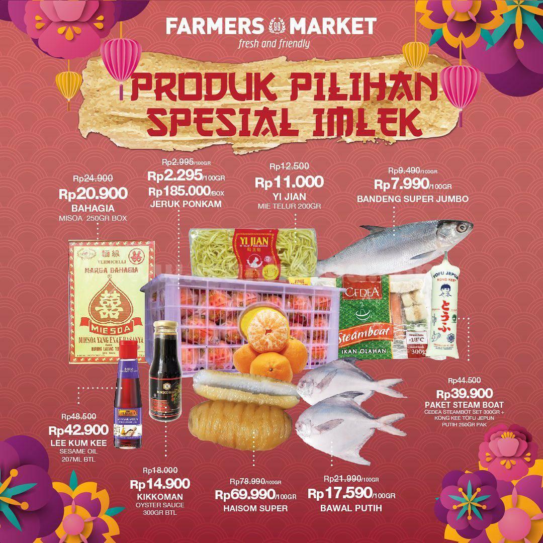 FARMERS MARKET Promo Spesial Imlek – Harga produk mulai dari Rp 7.990