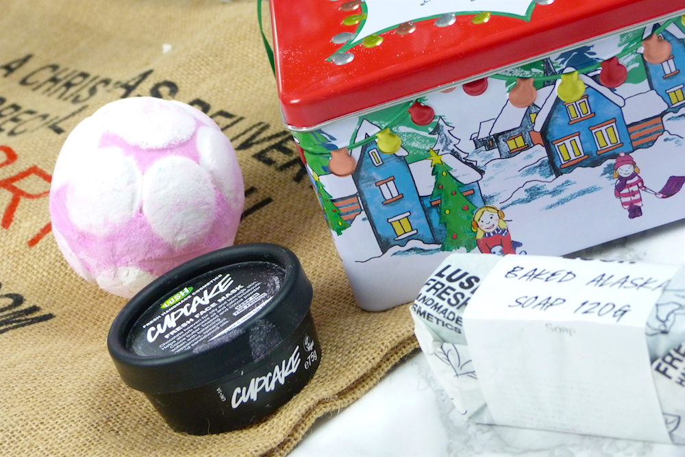 an image of Lush Christmas Haul and gift set 2017
