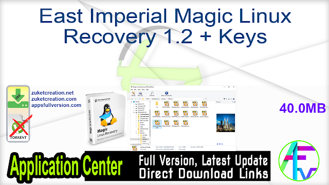 East Imperial Magic Linux Recovery 1.2 + Keys