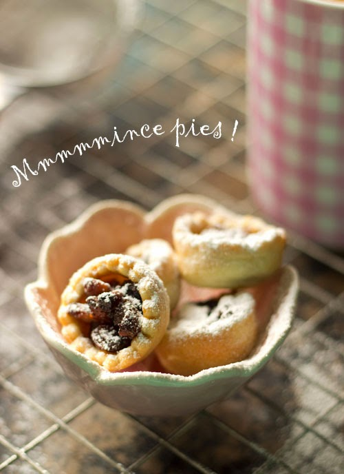 Someone else can make the mince pies !!!