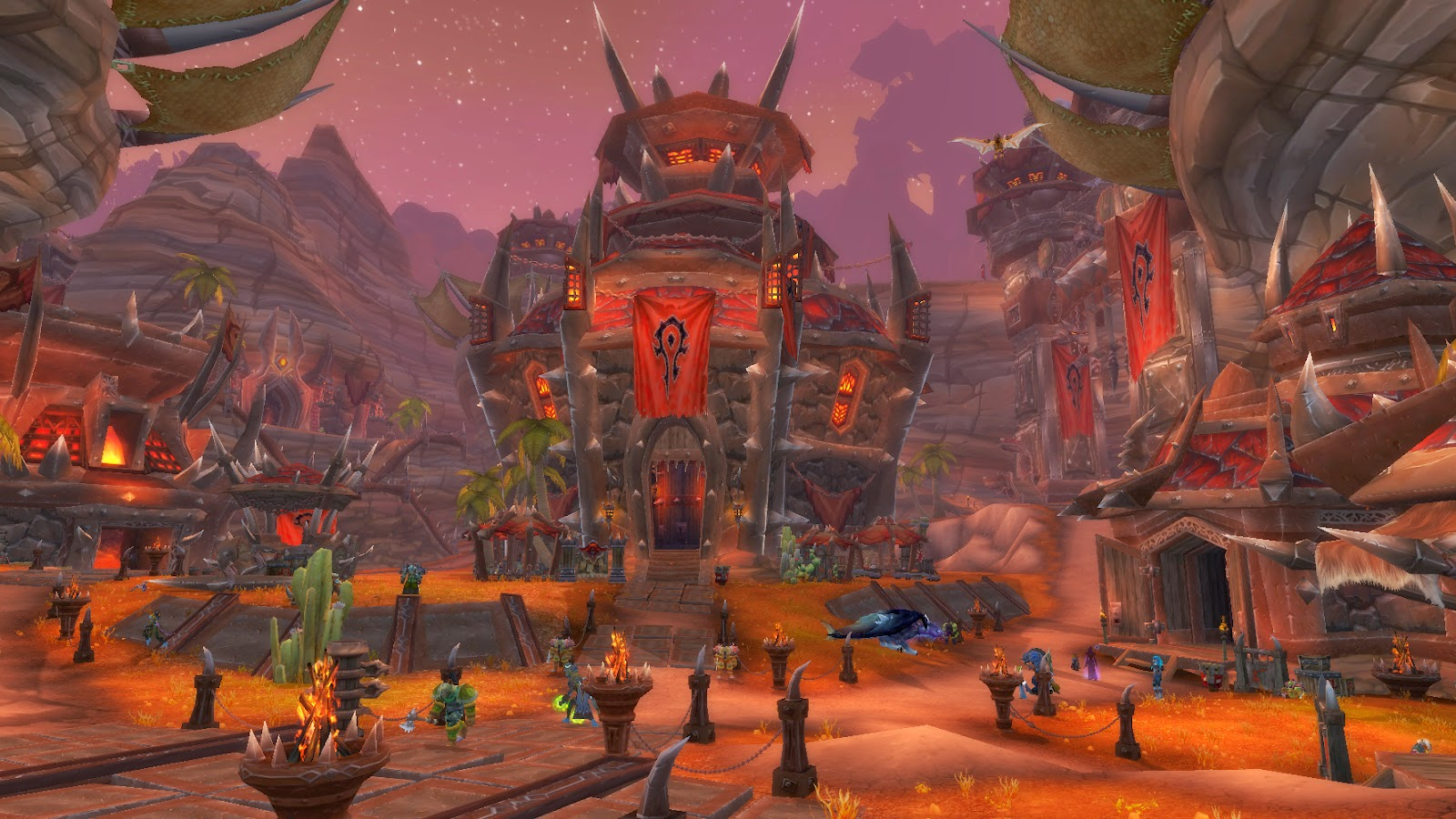 World of Warcraft Screenshot Orgrimmar