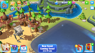 Endor Star Wars Disney Magic Kingdoms