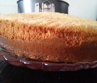 büyük pandispanya keki