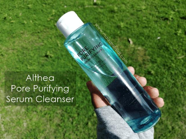 Althea Pore Purifying Serum Cleanser Buatkan Kulit Wajah Bersih dan Segar