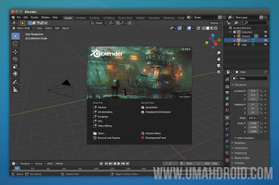 Edit Video dengan Blender Video Sequence Editor