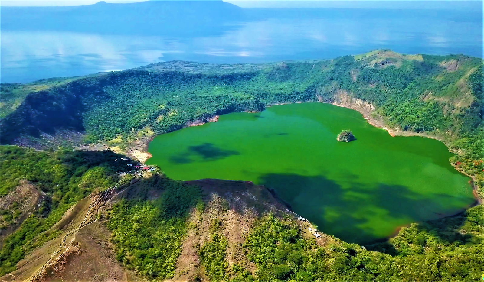 Philippines, Taal Volcano eruption 2020.