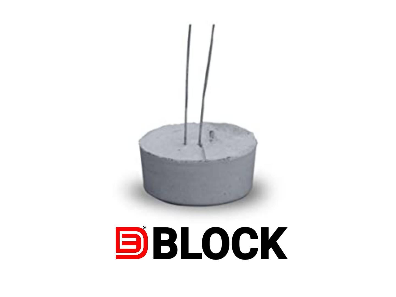 Three d block Concrete Rcc Cover Block