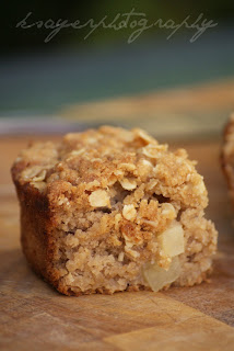 Gluten Free Apple Crumble Cake