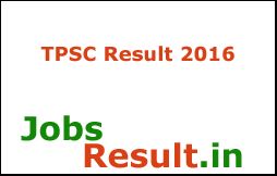 TPSC Result 2016