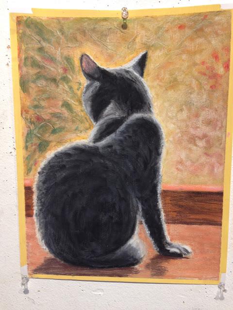 Original pastel on paper 11x14