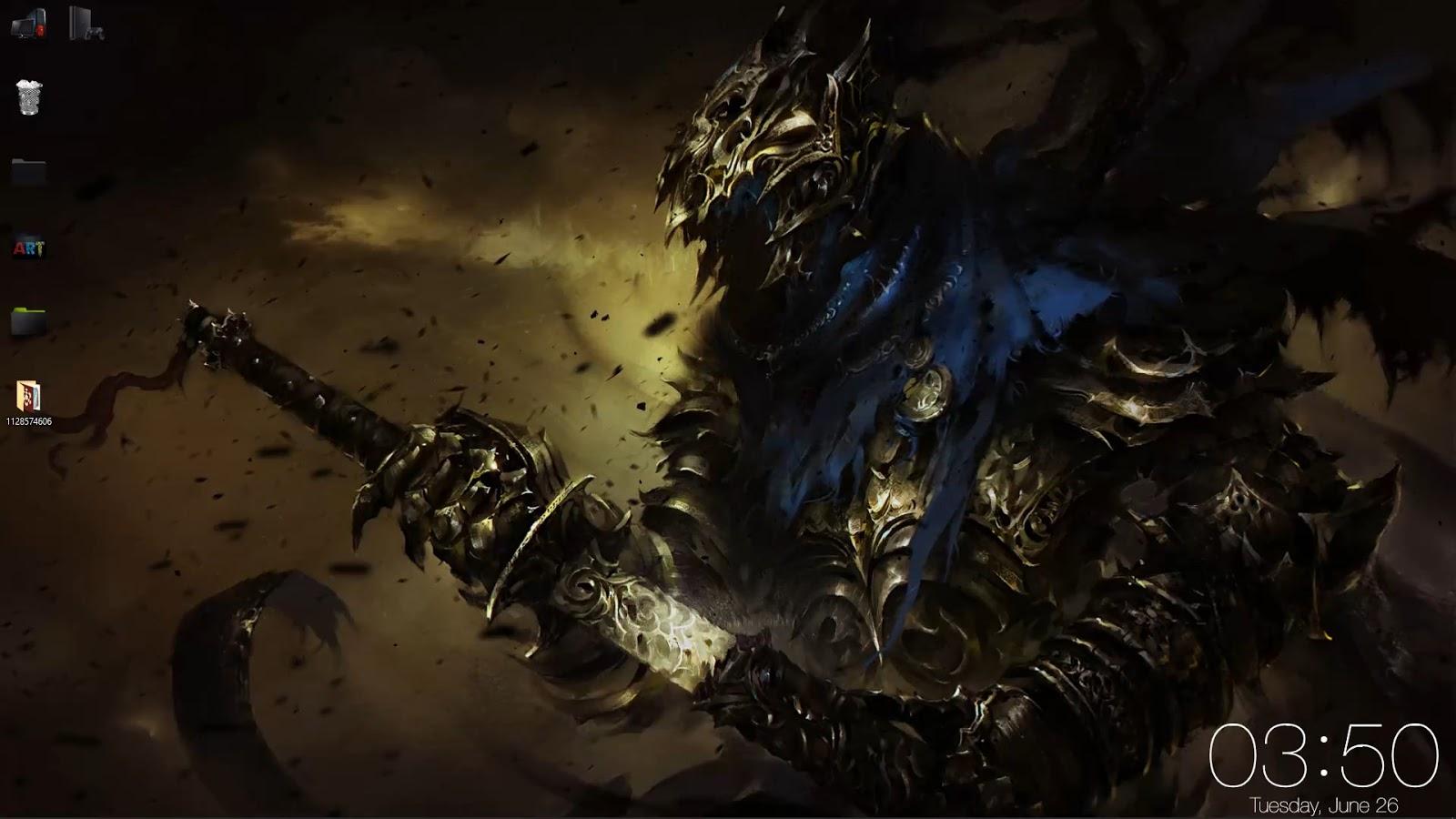 wallpaper engine Artorias Dark Souls ...