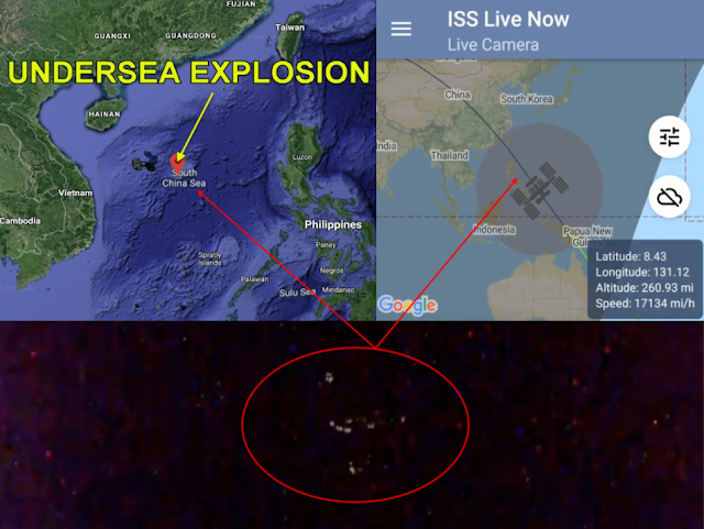 Massive underwater explosion in South China Sea caused by mysterious craft captured on ISS Live Cam? Underwater-explosion-south-china-sea-mysterious-craft-ISS%2B%25281%2529